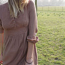 Mocha Moon Elclipse Embroidered Tunic Dress