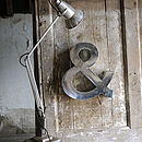Industrial Metal Letter