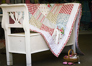 Personalised Handmade Quilt - baby & child