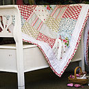 Personalised Handmade Quilt