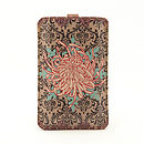 Chrysanthemum Star Leather Phone Case