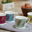 Floating Feather Mug Collection