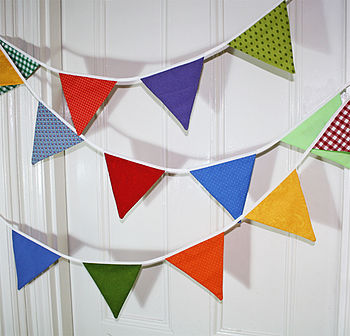 Patterned Party Bunting