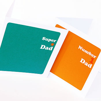 Father's Day Colour Block Card