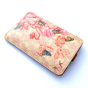 Springtime Leather Phone Case