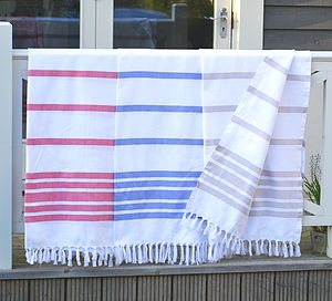 Hammam Classic Large Towel - bathroom