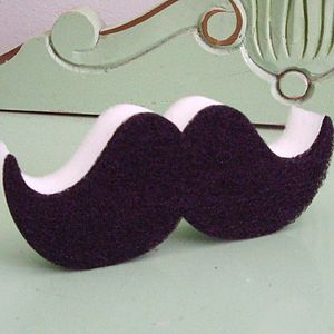Moustache Kitchen Scourer - kitchen accessories