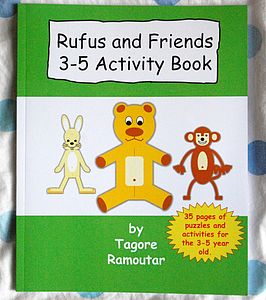 Children's Activity Book For 3-5yr Olds