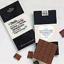 Personalised Dad Quote Chocolate