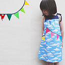 Girl's Summer Sun Bunting Dress