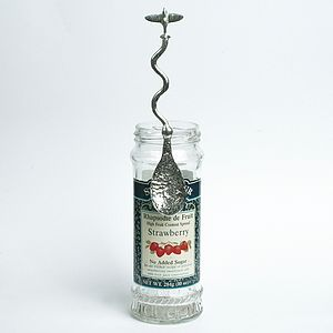 Spitfire Jam Jar Pewter Spoon - jams & preserves