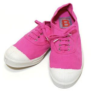 Bensimon Lacet Femme Pink Shoes - women's fashion