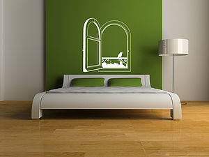 Open Window Wall Sticker - decorative accessories