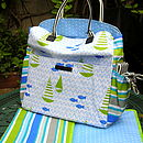 Designer Baby Changing Bag And Mat