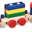 Stacking Puzzle Train