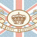 Union Jack Birthday Card