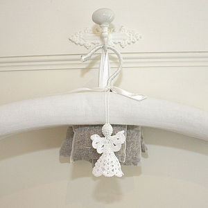 'You are my Angel' Lavender Angels Charms - hanging decorations