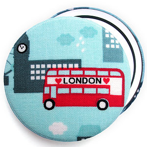 ''London'' Compact Mirror