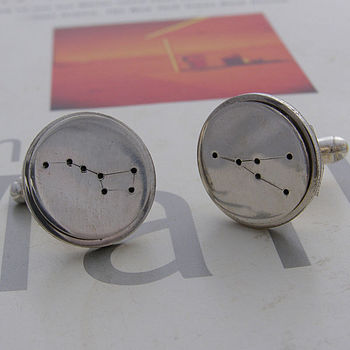 Silver Constellation Cufflinks