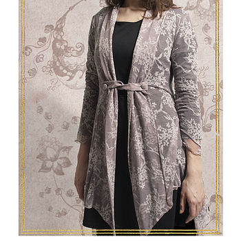 Blush Flower Knit Clemmie Cardigan