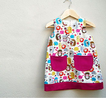 Girl's Hedgehog Dress