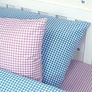 Gingham Pillowcases (Blue and Lilac)