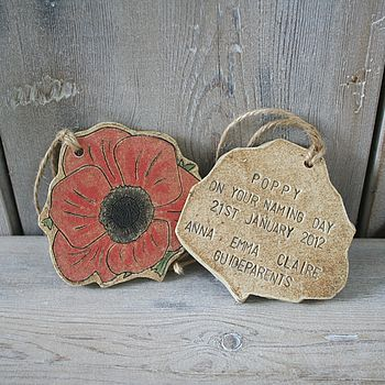 Personalised Ceramic Naming Day Keepsake