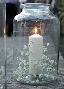Vintage Pickling Jar Lantern - lighting