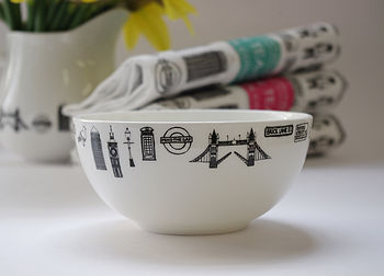 Illustrated London Fine Bone China Sugar Bowl