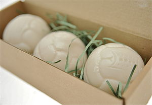 Football And Rugby Shaped Soap - men's grooming & toiletries