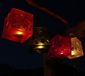 Garden Lantern - outdoor decorations