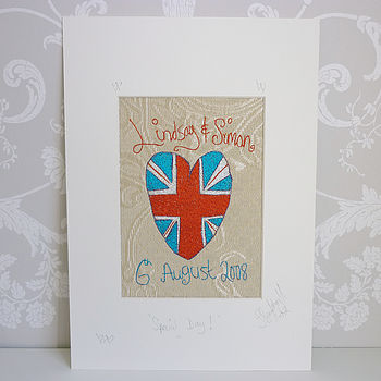Personalised Wedding Or Anniversary Artwork
