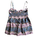 Hip Liberty Silk Print Shell Pink Camisole