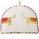 Hot Dogs Tea Cosy - Back