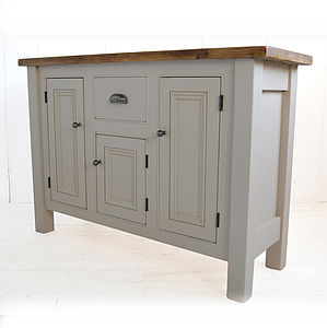Reclaimed Wood Base - dressers & sideboards