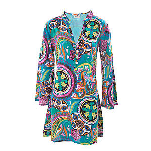 Cotton Tunic Blouse - tunics