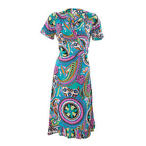 50% OFF Cotton Wrap Dress - dresses