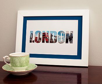 'London' In Photographs Print