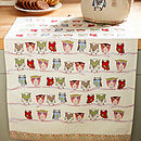 Twitter Cotton Tea Towel Theme
