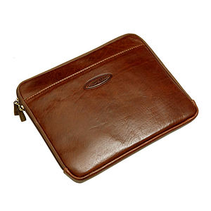 'Luzzi' Leather Case For Ipad - bags & purses