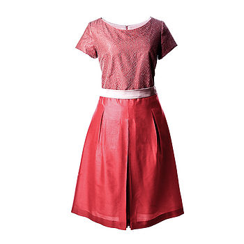 Alice Coral Pink Dress