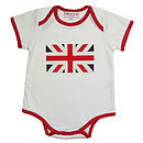 Union Flag Baby Grow