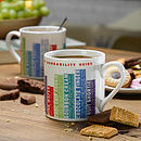 Quirky Biscuit Dunkability Guide Mug