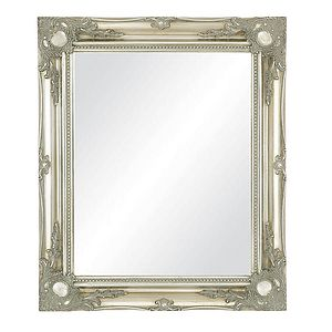 Antique Style Swept Frame Mirror