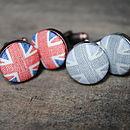 Vintage Style Union Jack Cufflinks