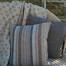 Woven Wool Welsh Tweed Cushion
