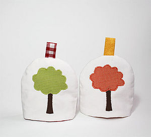 Tree Egg Cosy - egg cups & cosies