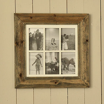Natural Wood Multiframes
