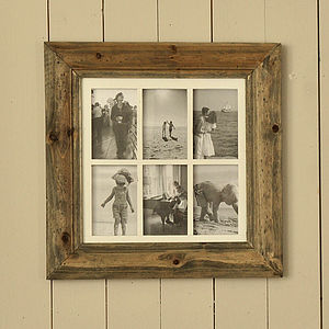 Natural Wood Multiframes - picture frames