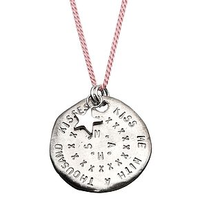 Personalised Super Medallion Necklace